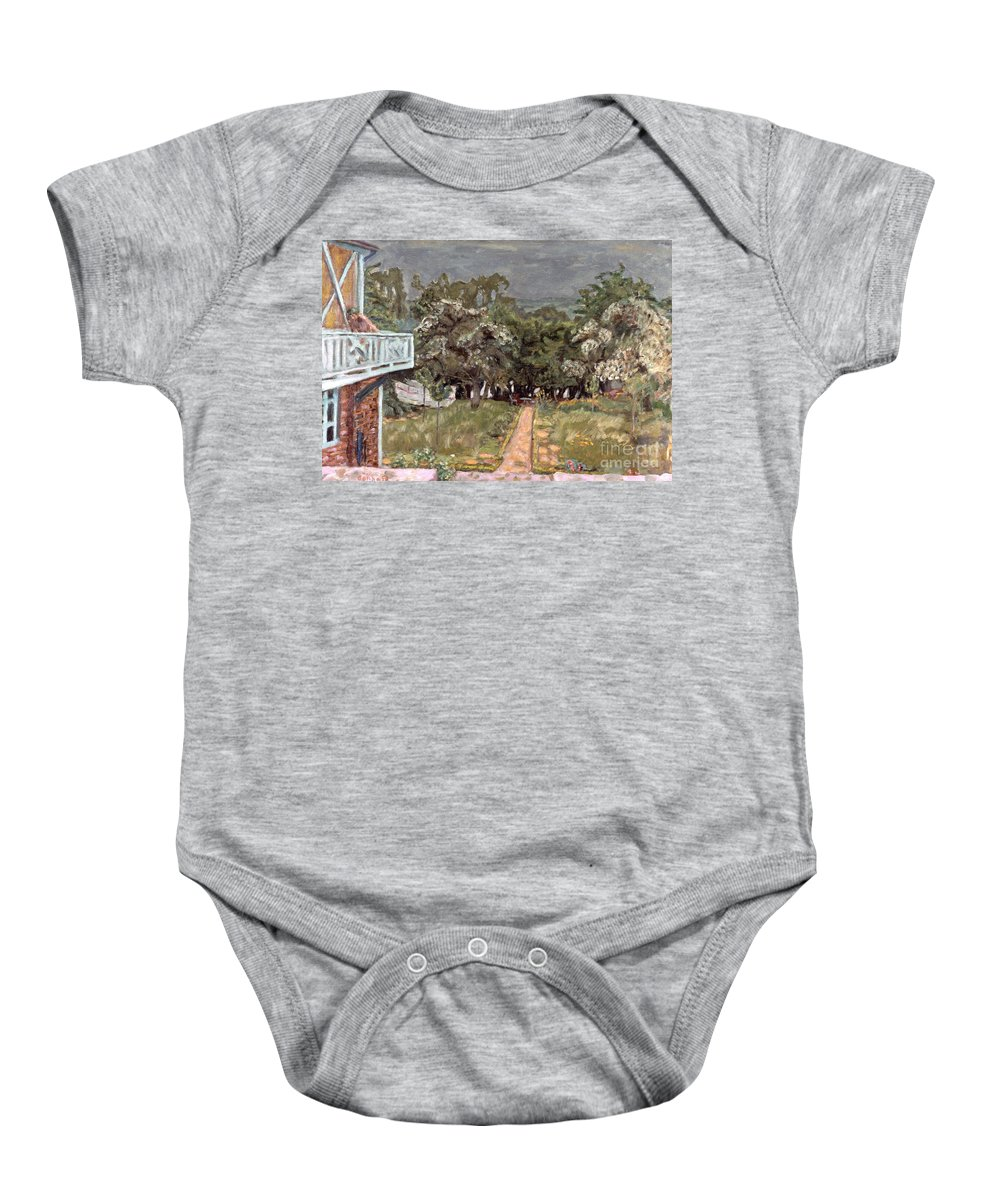 1910 Baby Onesie featuring the photograph Bonnard: Balcony, 1909-10 by Granger
