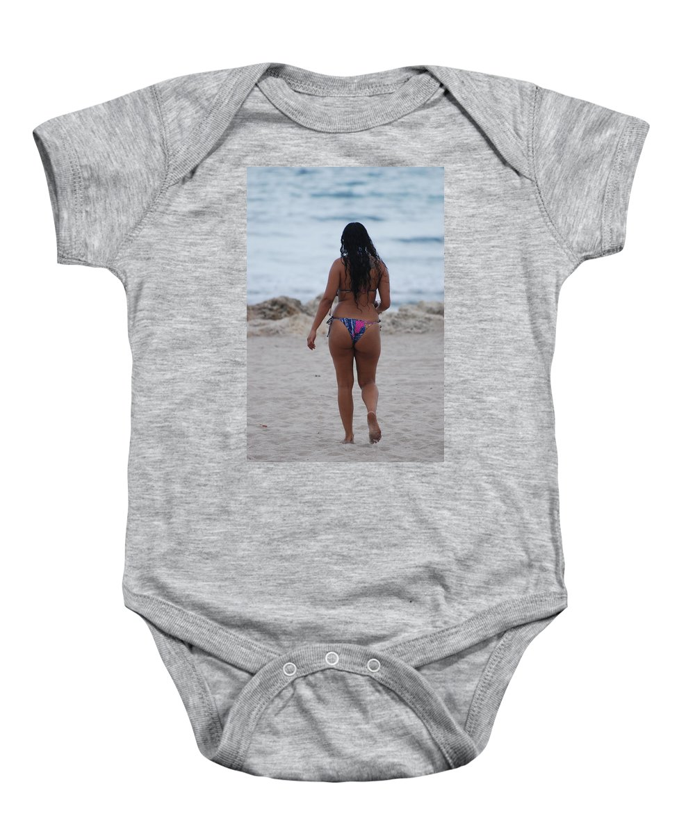 Sexy Baby Onesie featuring the photograph Brazilian Beauty by Rob Hans