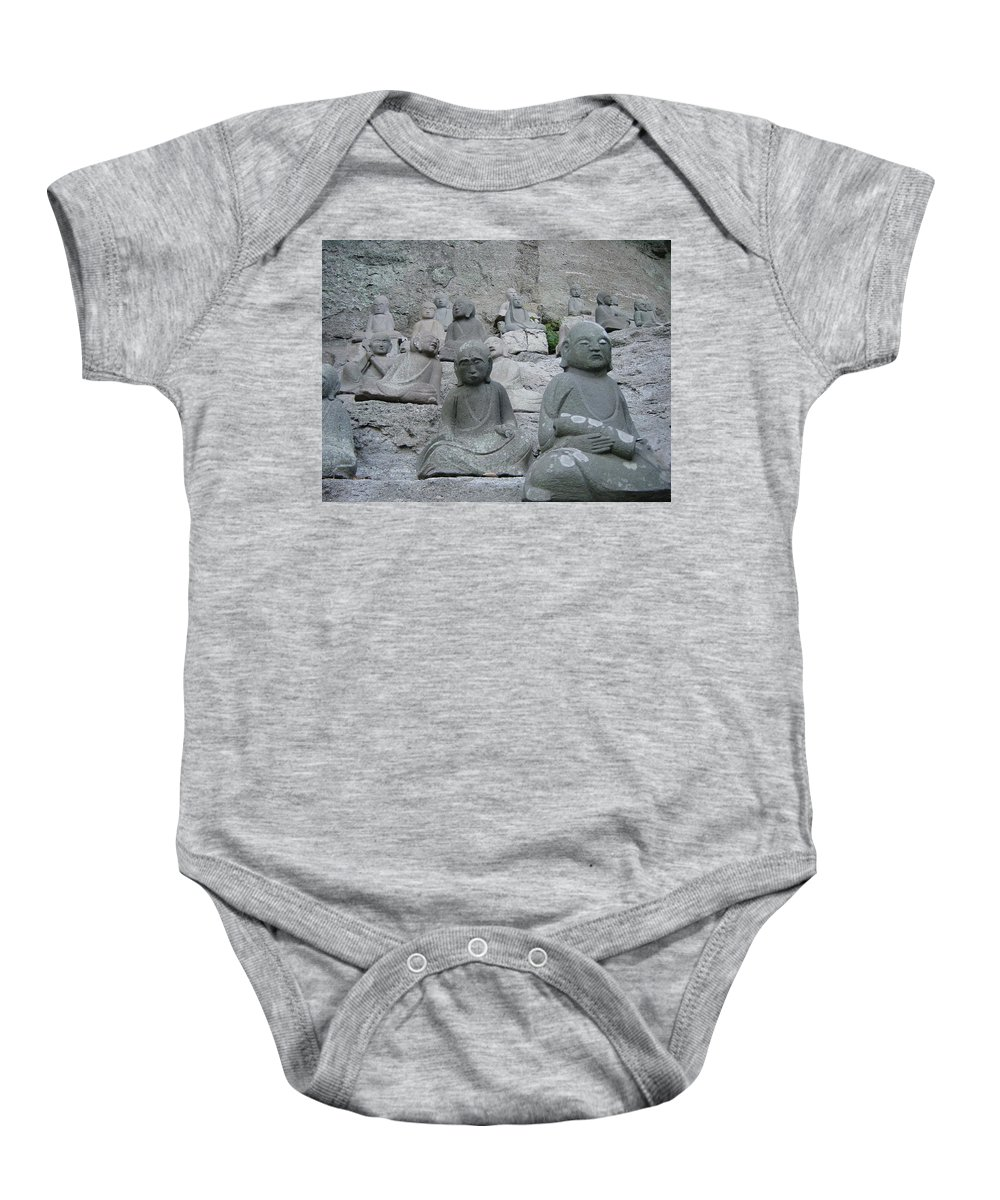 Laughter Baby Onesie featuring the photograph Breaking Character by D Turner
