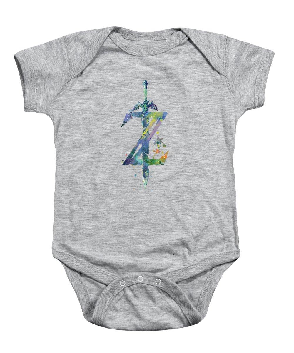 2770320b8 Legend Of Zelda Baby Onesies   Fine Art America
