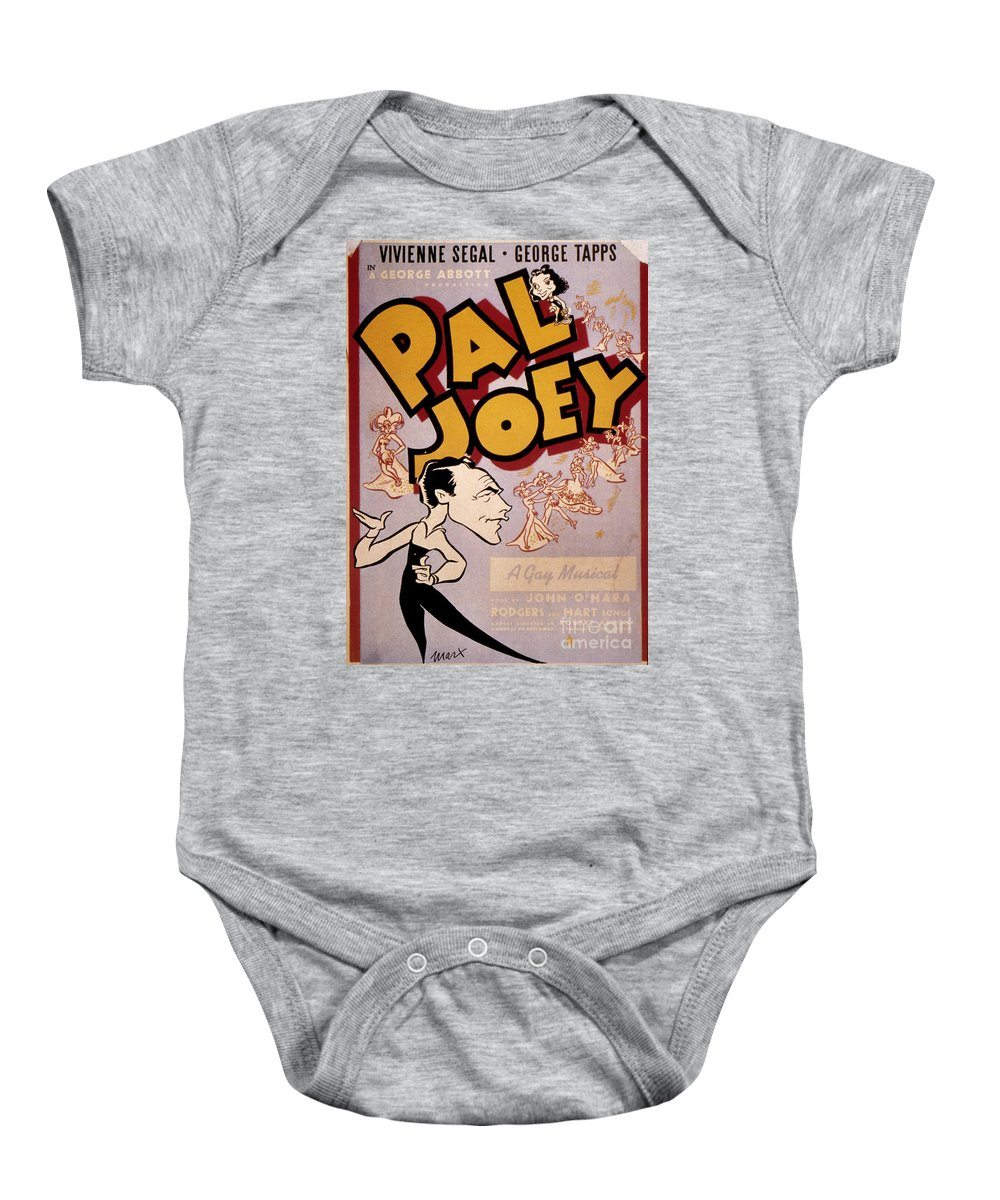 1940 Baby Onesie featuring the photograph Broadway: Pal Joey, 1940 by Granger