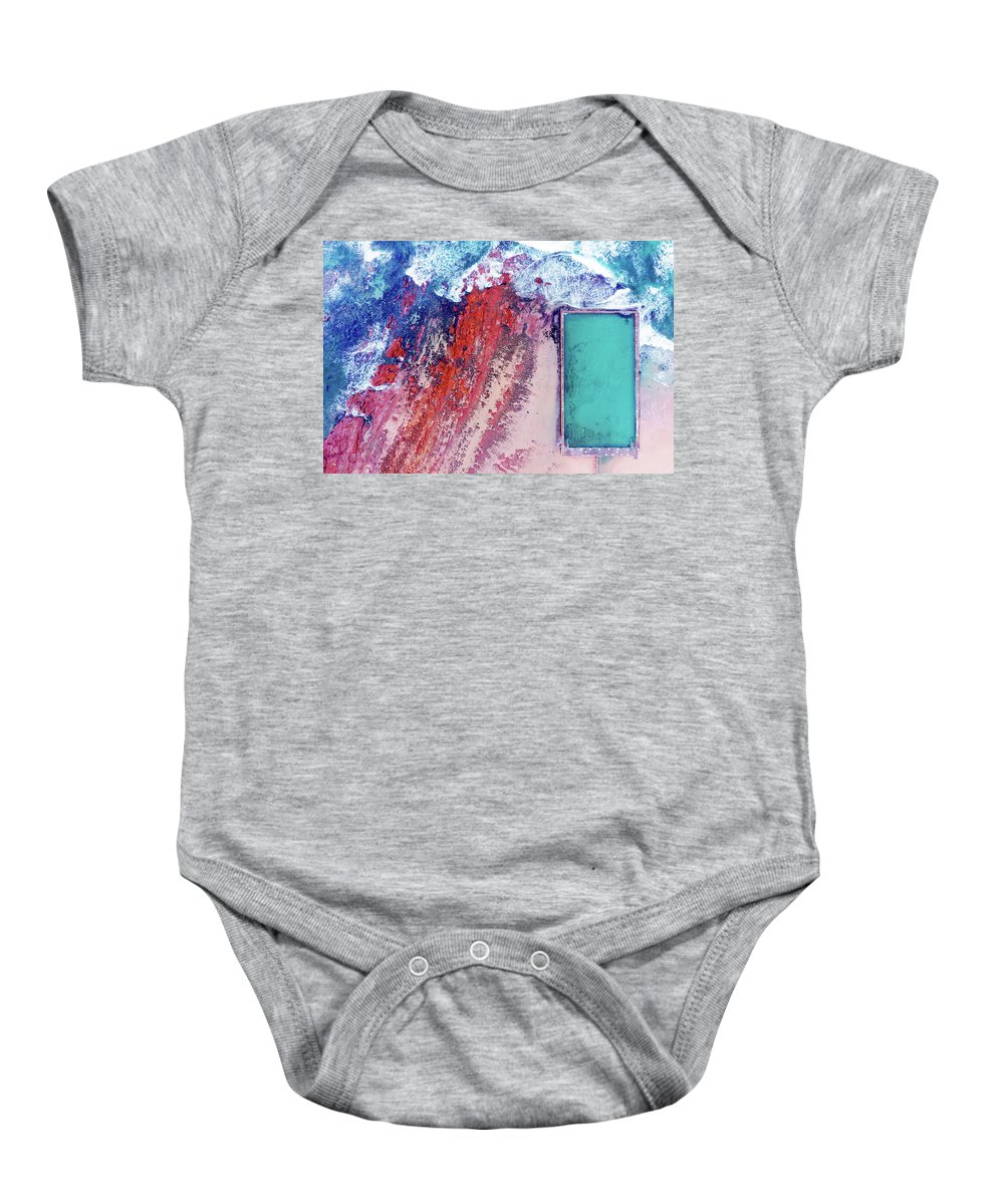 Baby Onesie featuring the photograph Bulli Pool by Chris Lane