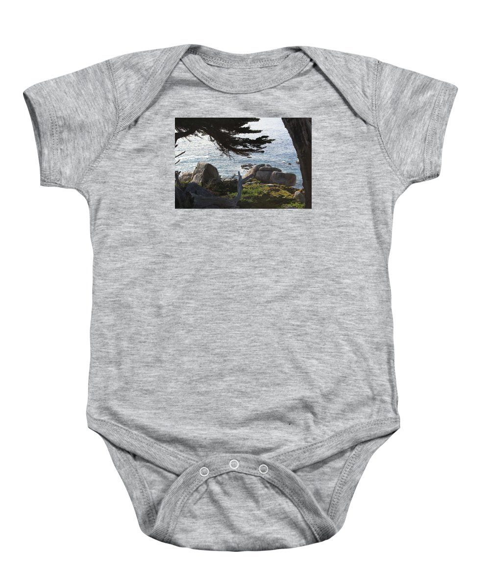 Ocean Baby Onesie featuring the photograph California Shade by Bill Dalleske