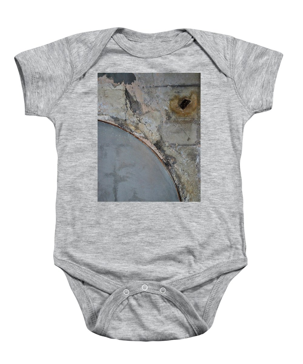 Architecture Baby Onesie featuring the photograph Carlton 5 by Tim Nyberg