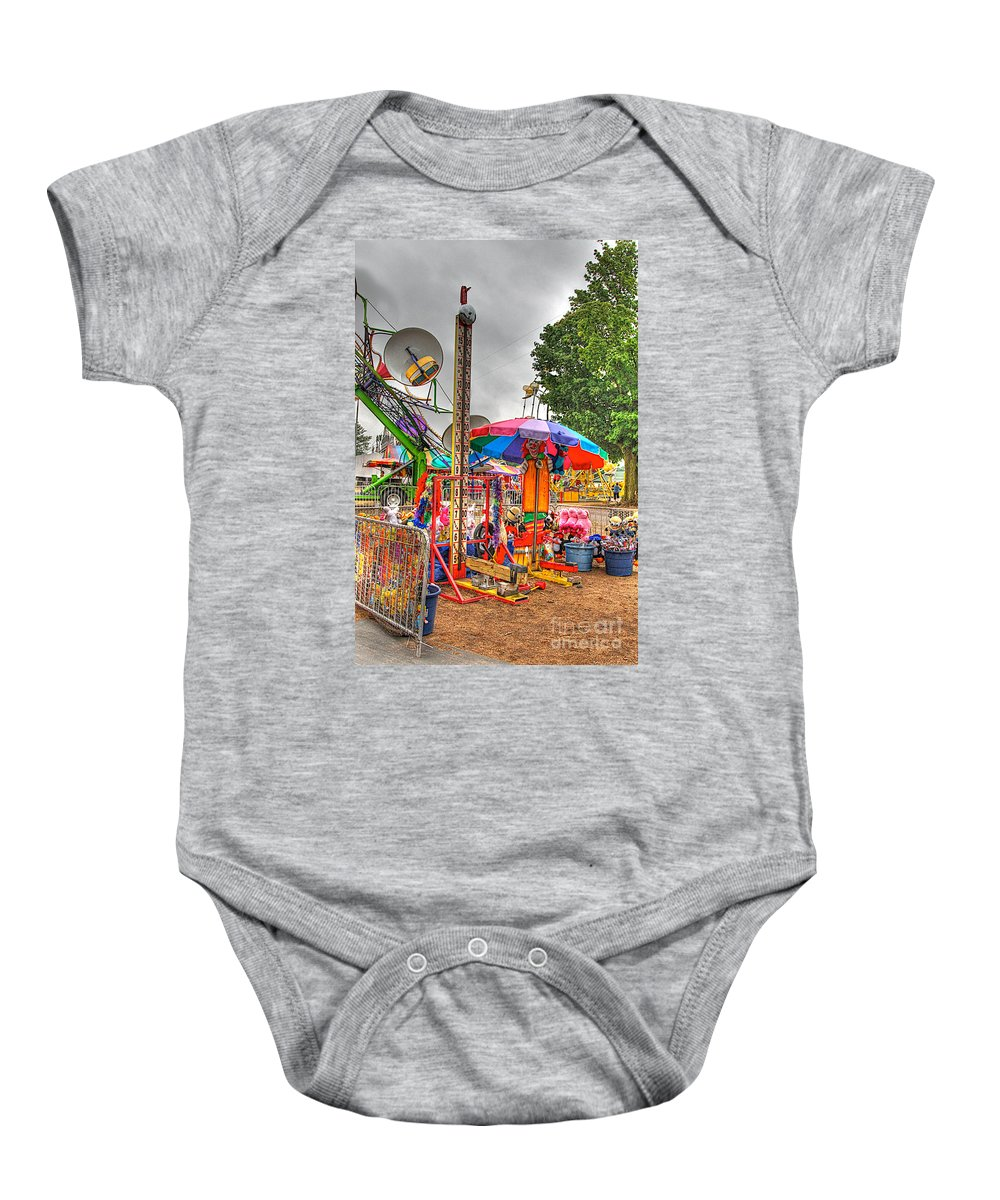 Fair Baby Onesie featuring the photograph Carnival Life 2 by Robert Pearson