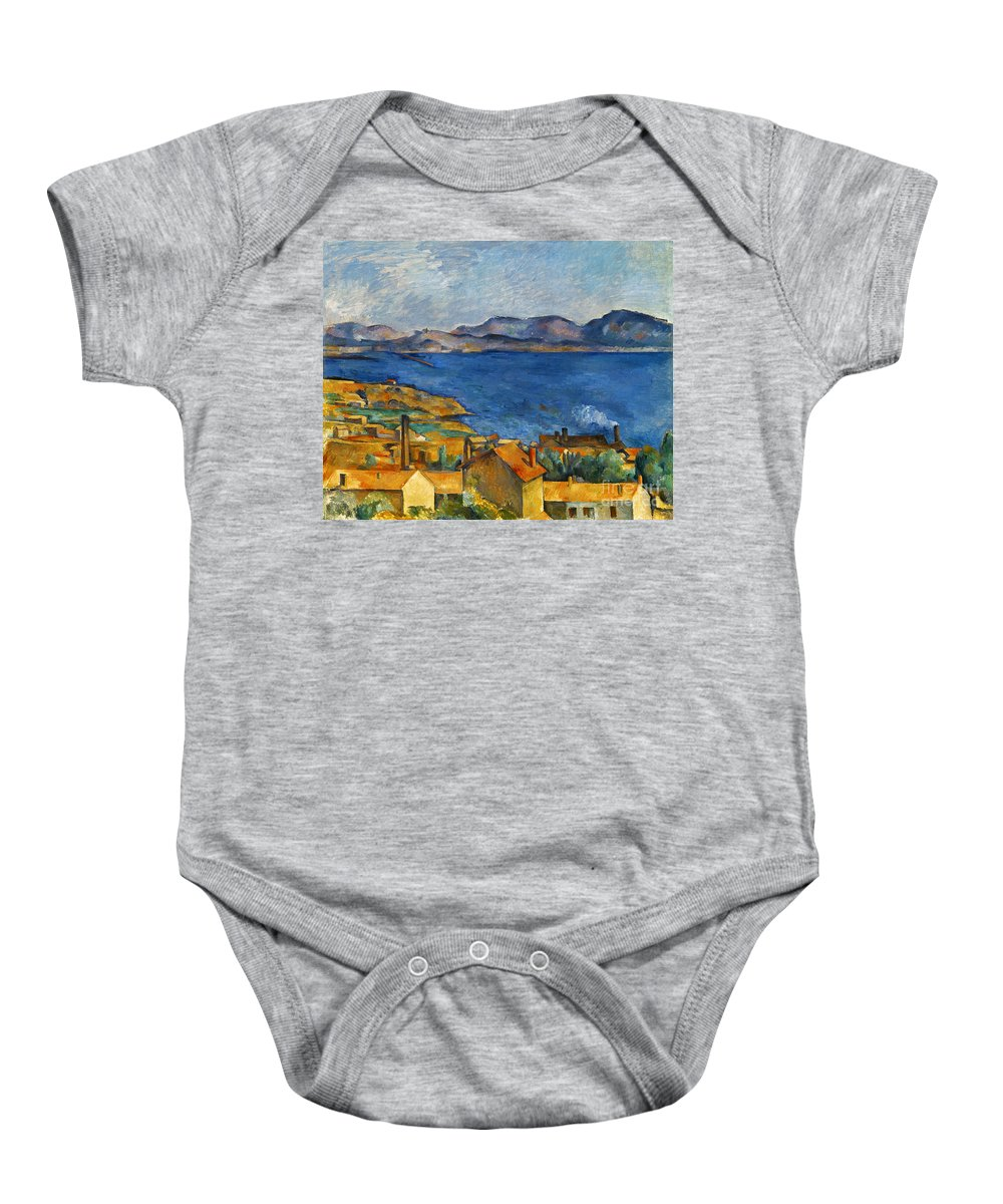 1890 Baby Onesie featuring the photograph Cezanne Marseilles 1886-90 by Granger