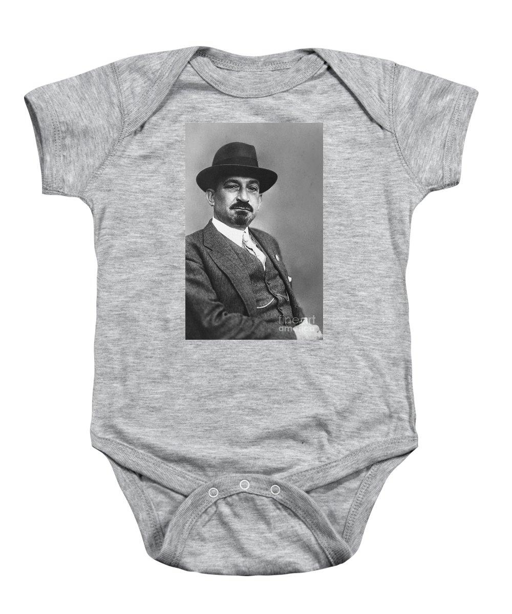 19th Century Baby Onesie featuring the photograph Chaim Weizmann by Granger
