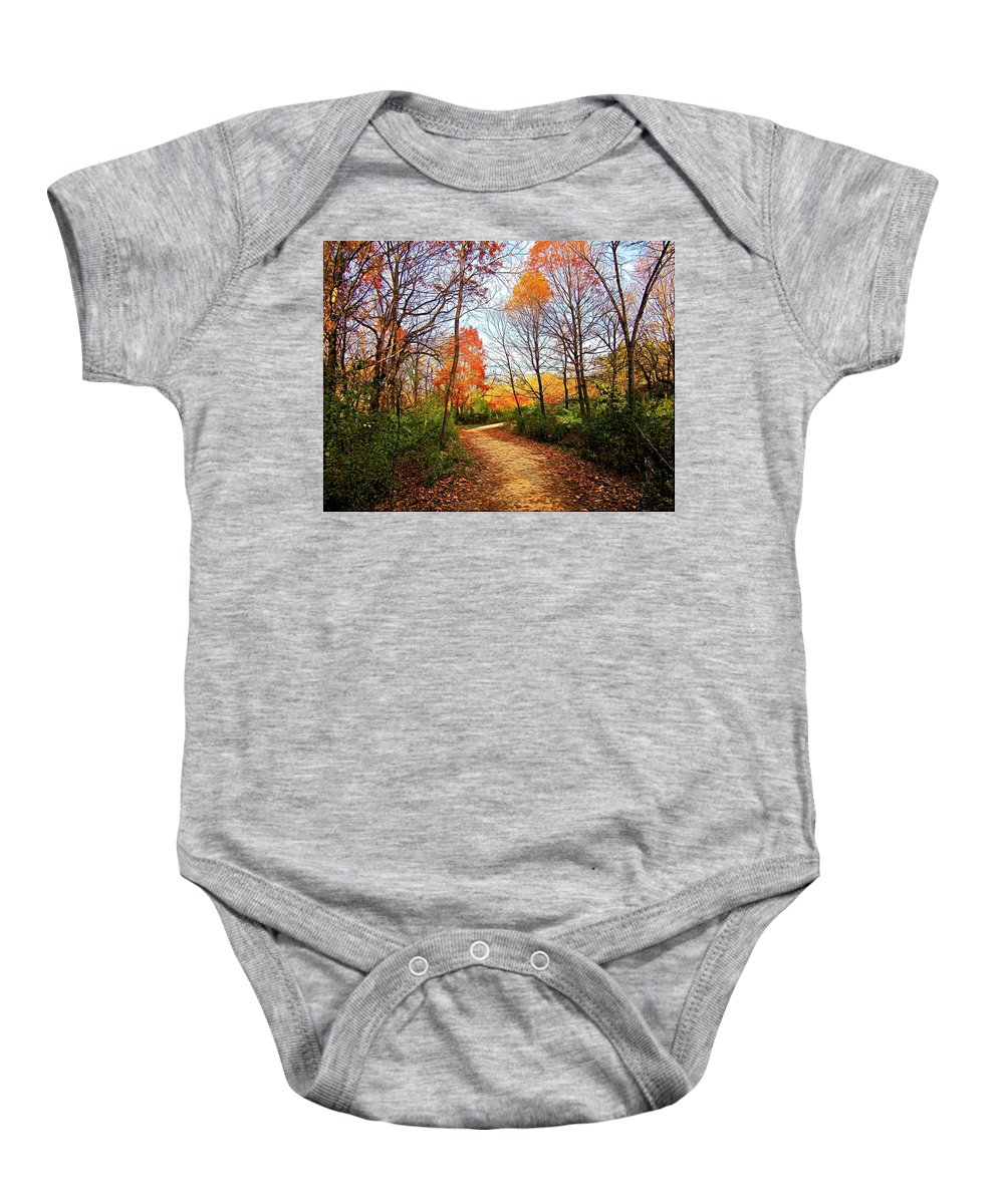 Baby Onesie featuring the digital art Changes by Charles Duax