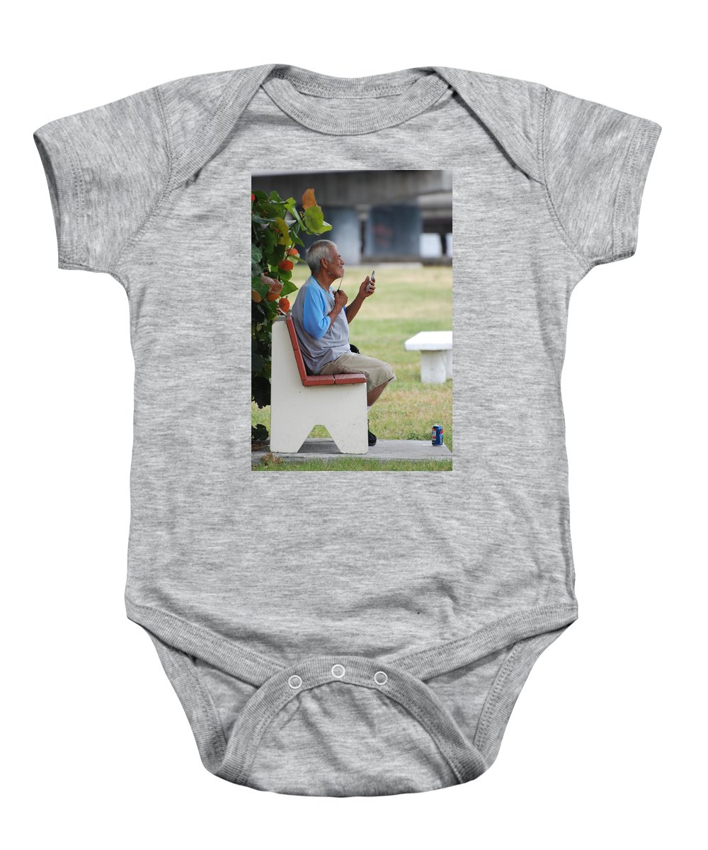Homeless Baby Onesie featuring the photograph Choice Of A New Generation by Rob Hans
