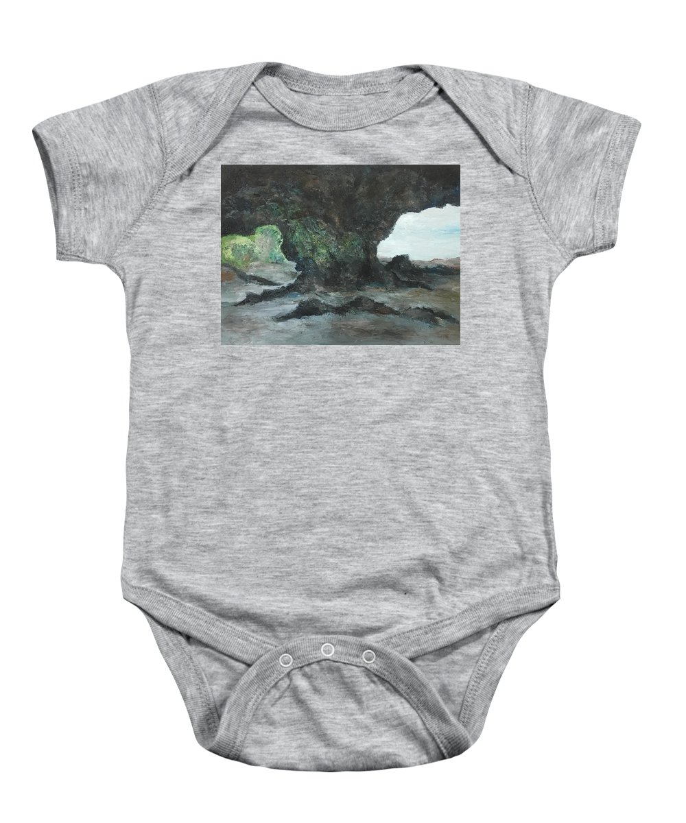 Scenes Baby Onesie featuring the painting Choices by Yong Chee lik