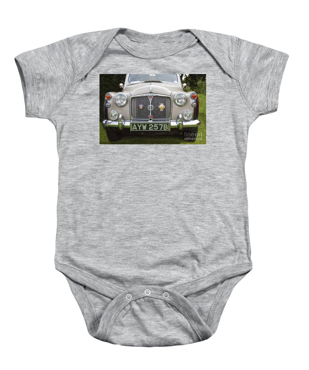 Rover 110 Baby Onesie featuring the photograph Classic Cars - Rover 110 by Doc Braham