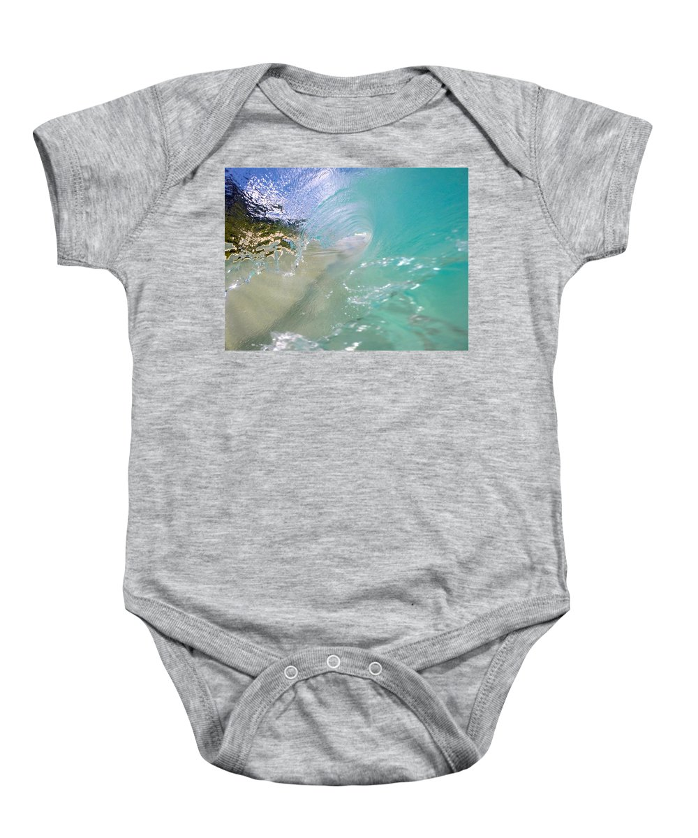 Wave Baby Onesie featuring the photograph Clear Vision by Benen Weir