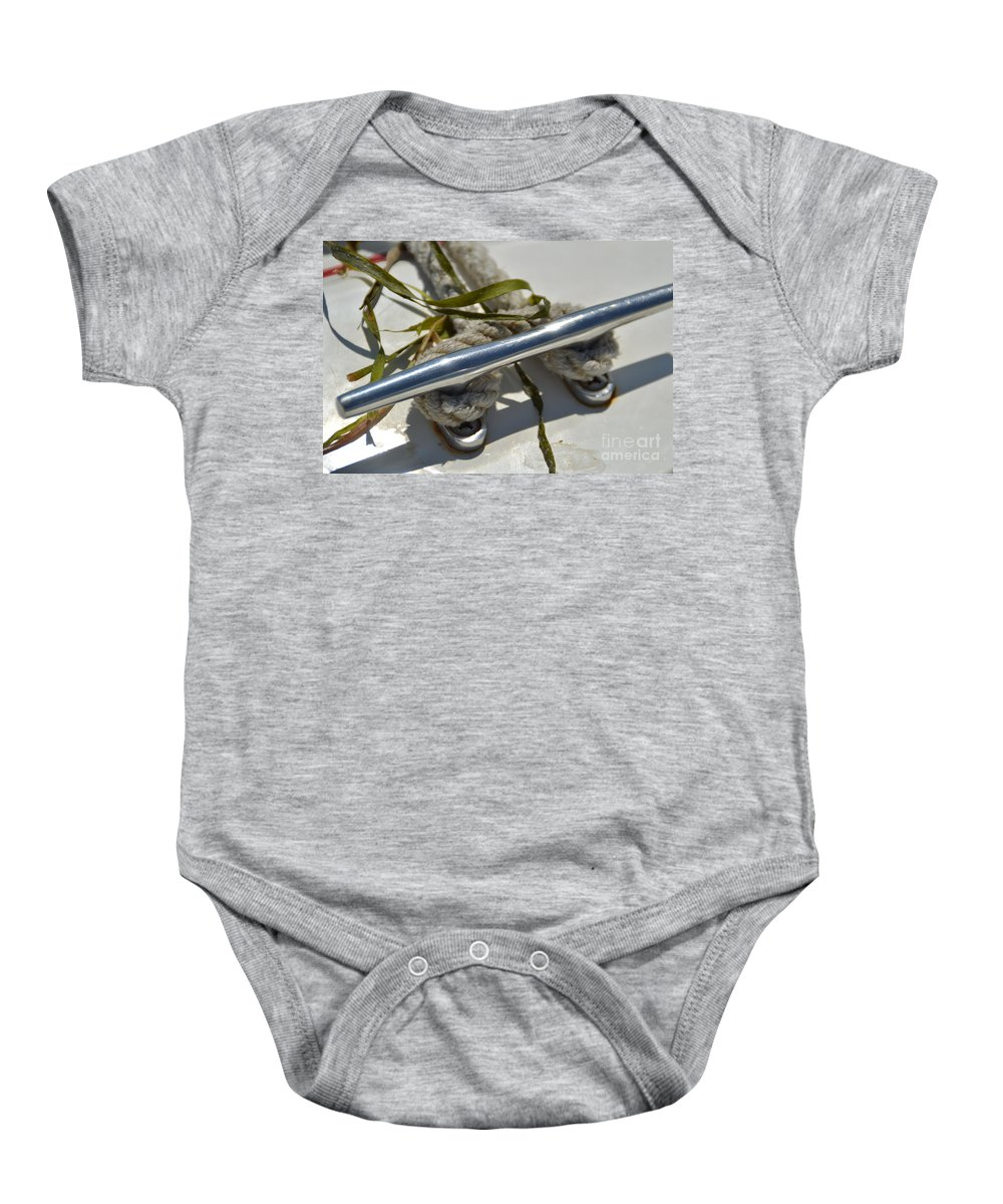 Cleat Baby Onesie featuring the photograph Cleat 3 by Jan Prewett