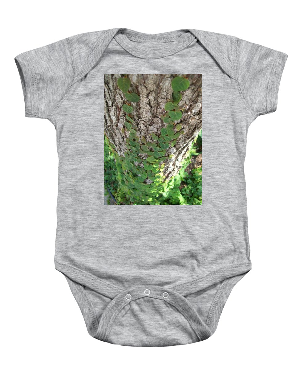 Ivy Baby Onesie featuring the photograph Climbers by Laurette Escobar