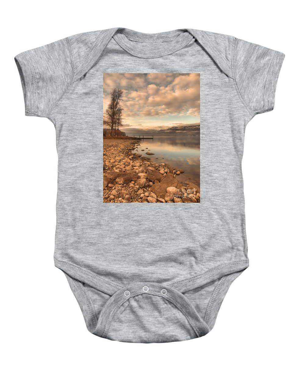 Clouds Baby Onesie featuring the photograph Clouds And Calmness by Tara Turner
