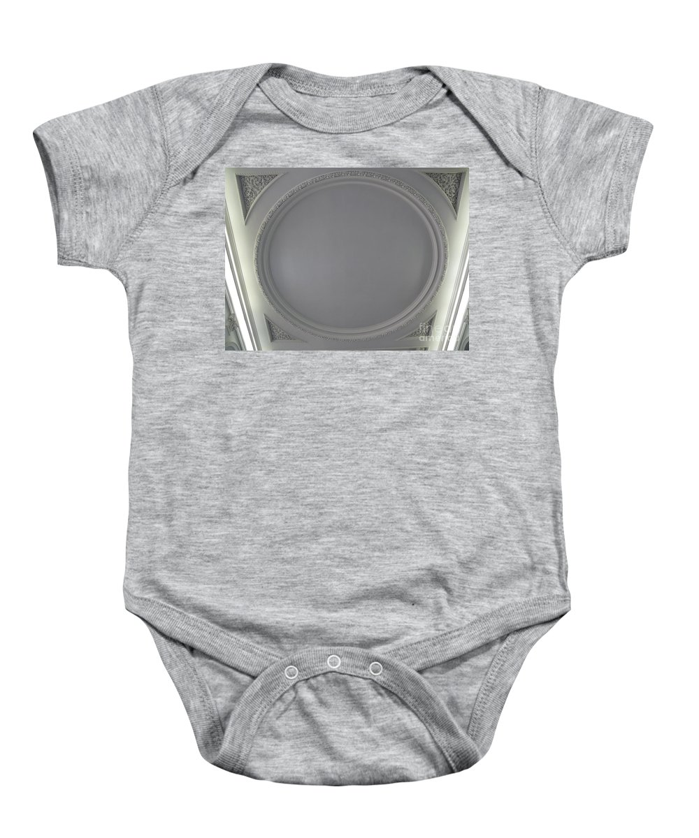 Cochran Library Baby Onesie featuring the photograph Cochran Library by Katherine W Morse