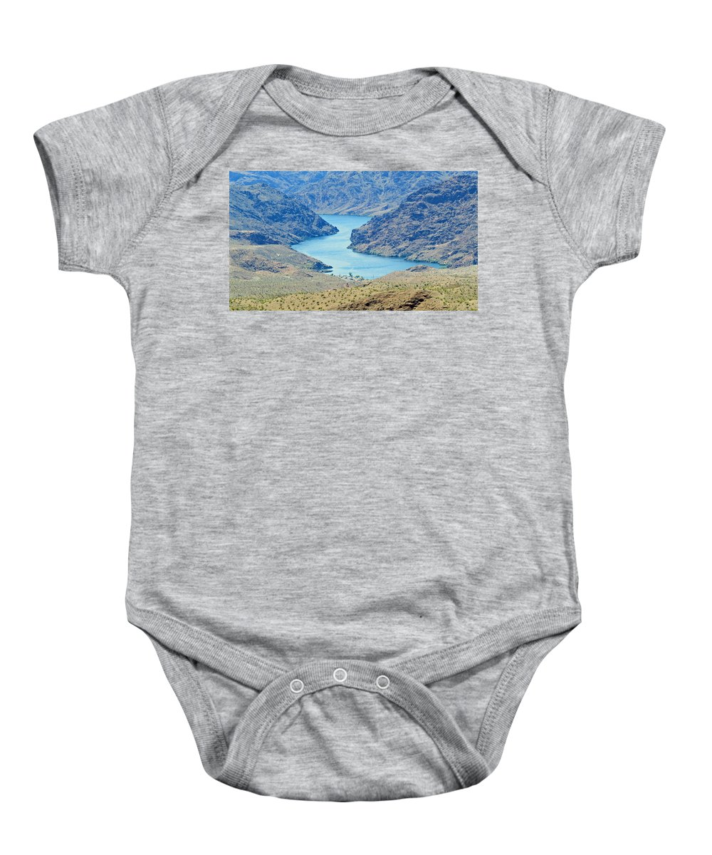 Landscape Baby Onesie featuring the photograph Colorado River Arizona by Carl Deaville
