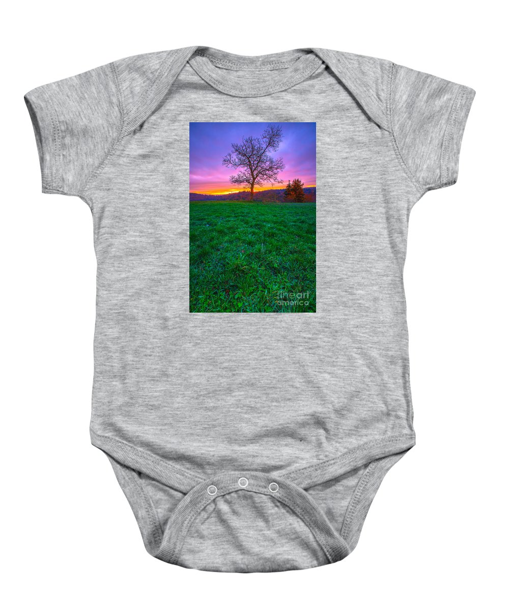 Color Baby Onesie featuring the photograph Colored by John Noe