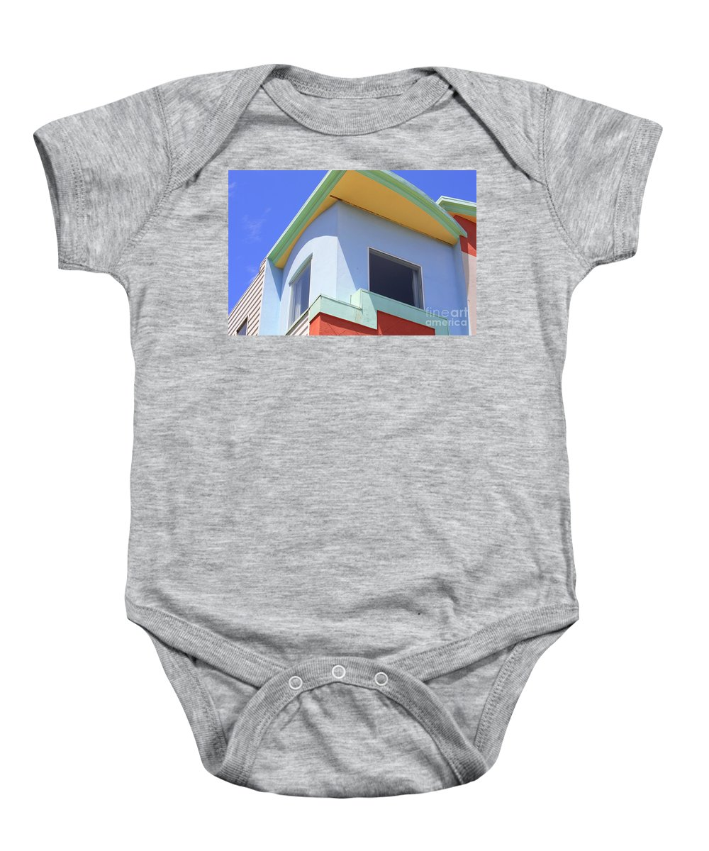 San Franciso Baby Onesie featuring the photograph Colorful House In San Francisco by Carol Groenen