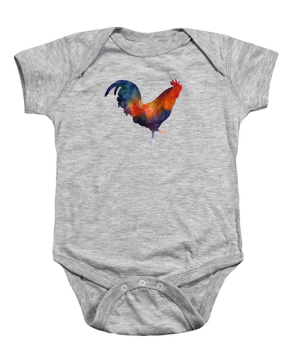 Rooster Baby Onesies