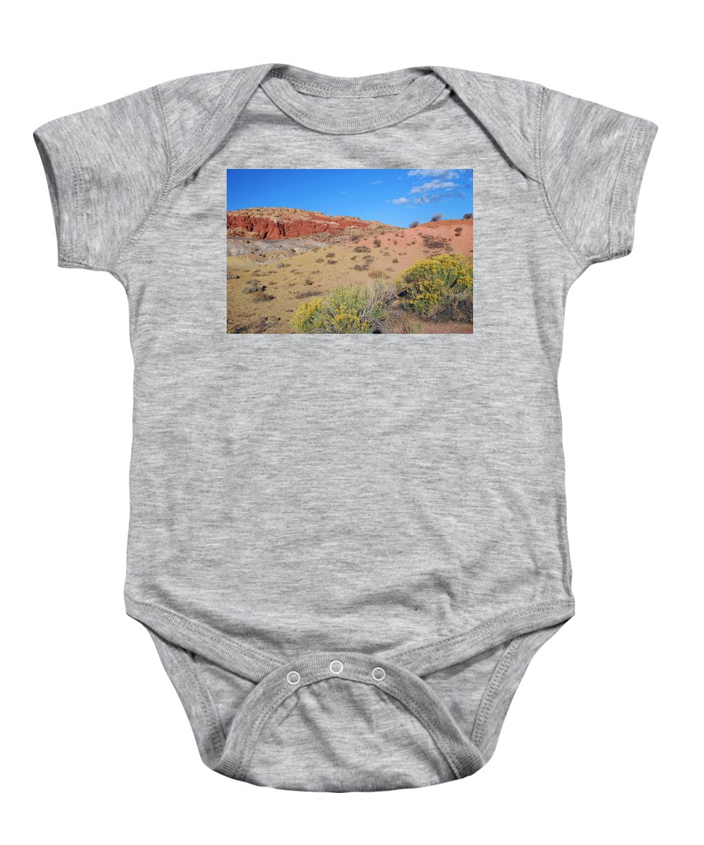 Desert Baby Onesie featuring the photograph Colors Of The Utah Desert by Cascade Colors