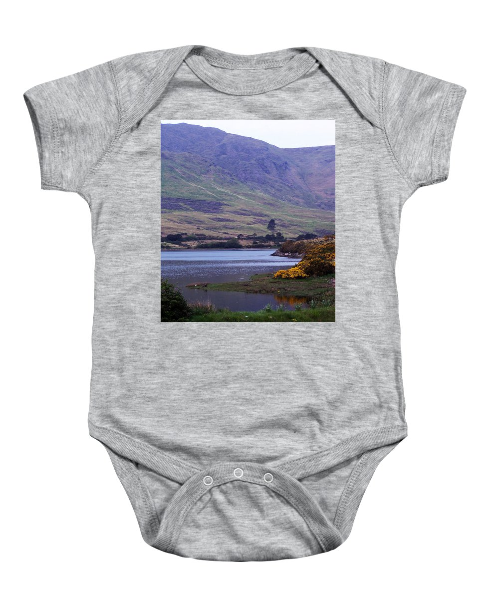Landscape Baby Onesie featuring the photograph Connemara Leenane Ireland by Teresa Mucha