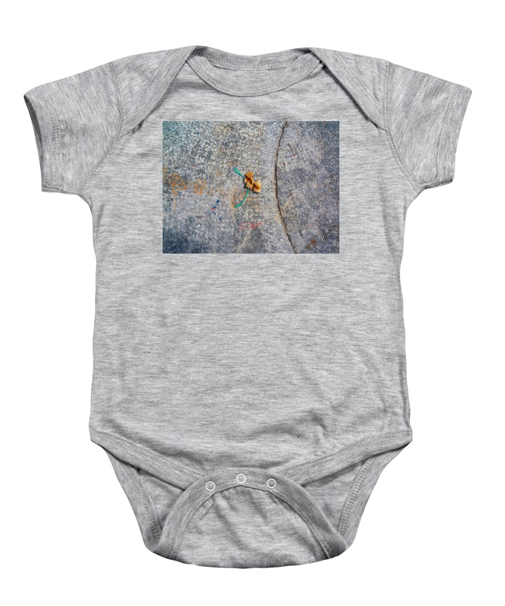 Fishing Net Baby Onesie featuring the photograph Curve And Counter Curve by Charles Stuart