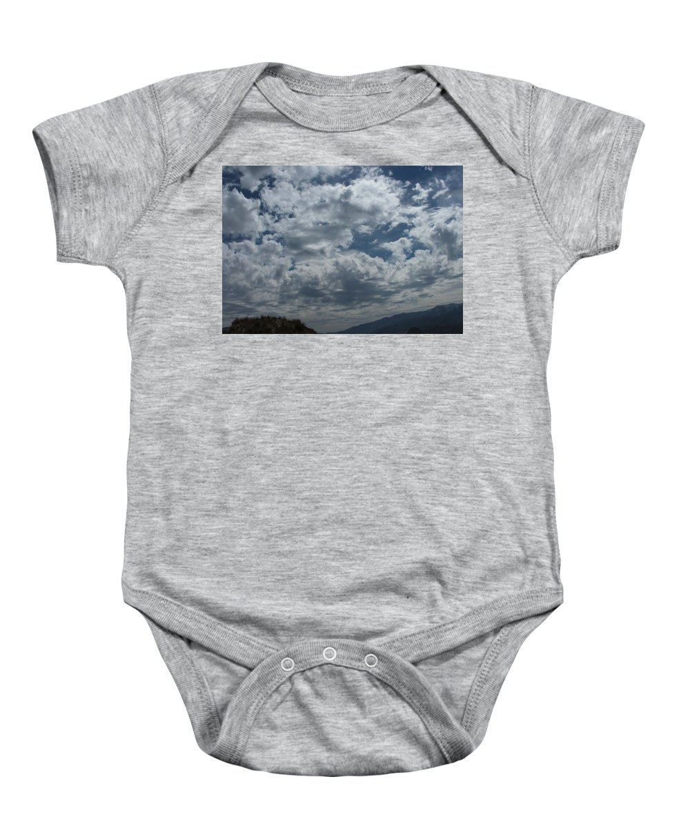 Clouds Baby Onesie featuring the photograph Daydreaming by Shari Chavira