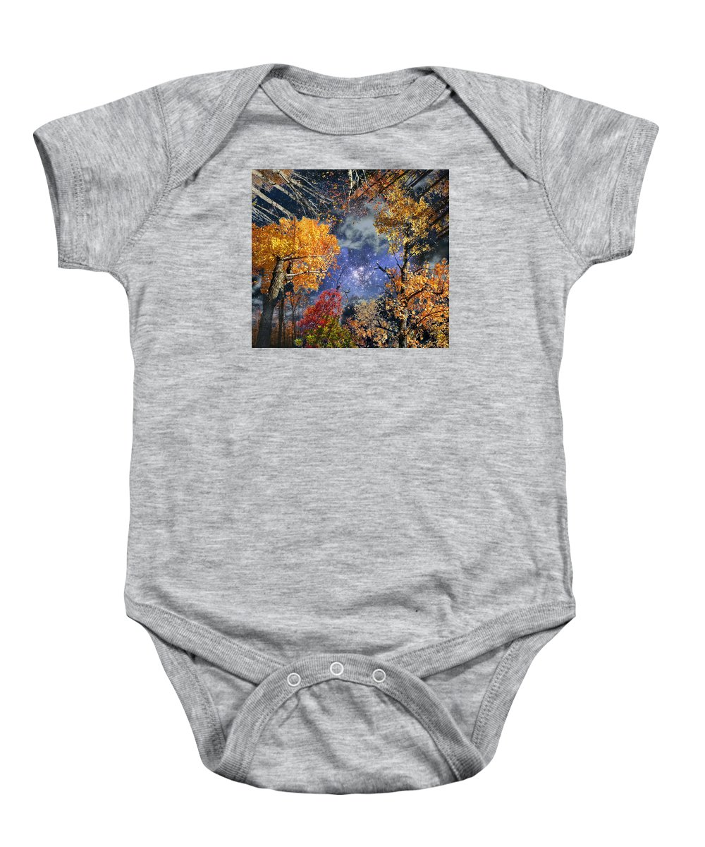 Deep Space Baby Onesie featuring the photograph Deep Canopy by Dave Martsolf
