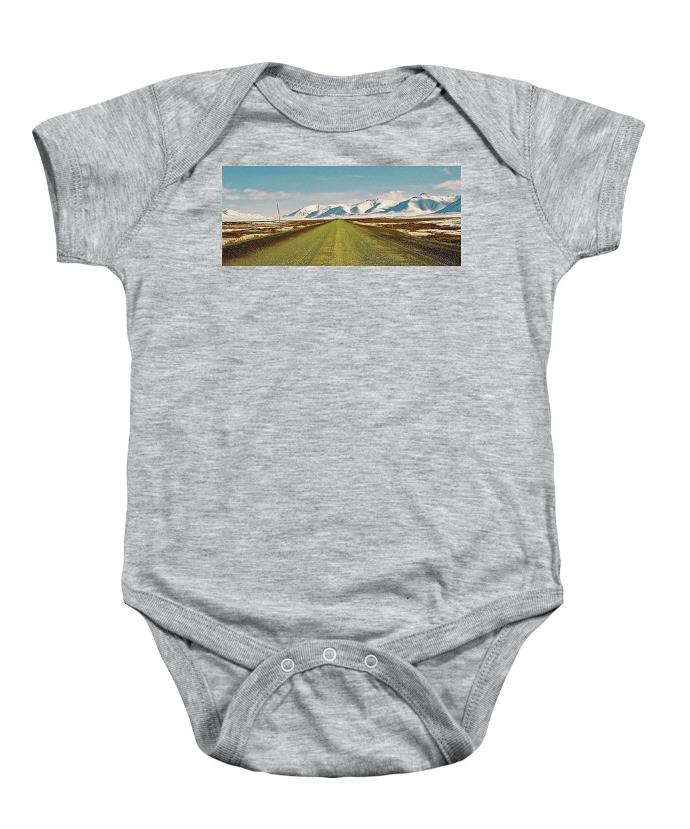 North America Baby Onesie featuring the photograph Dempster Highway - Yukon by Juergen Weiss