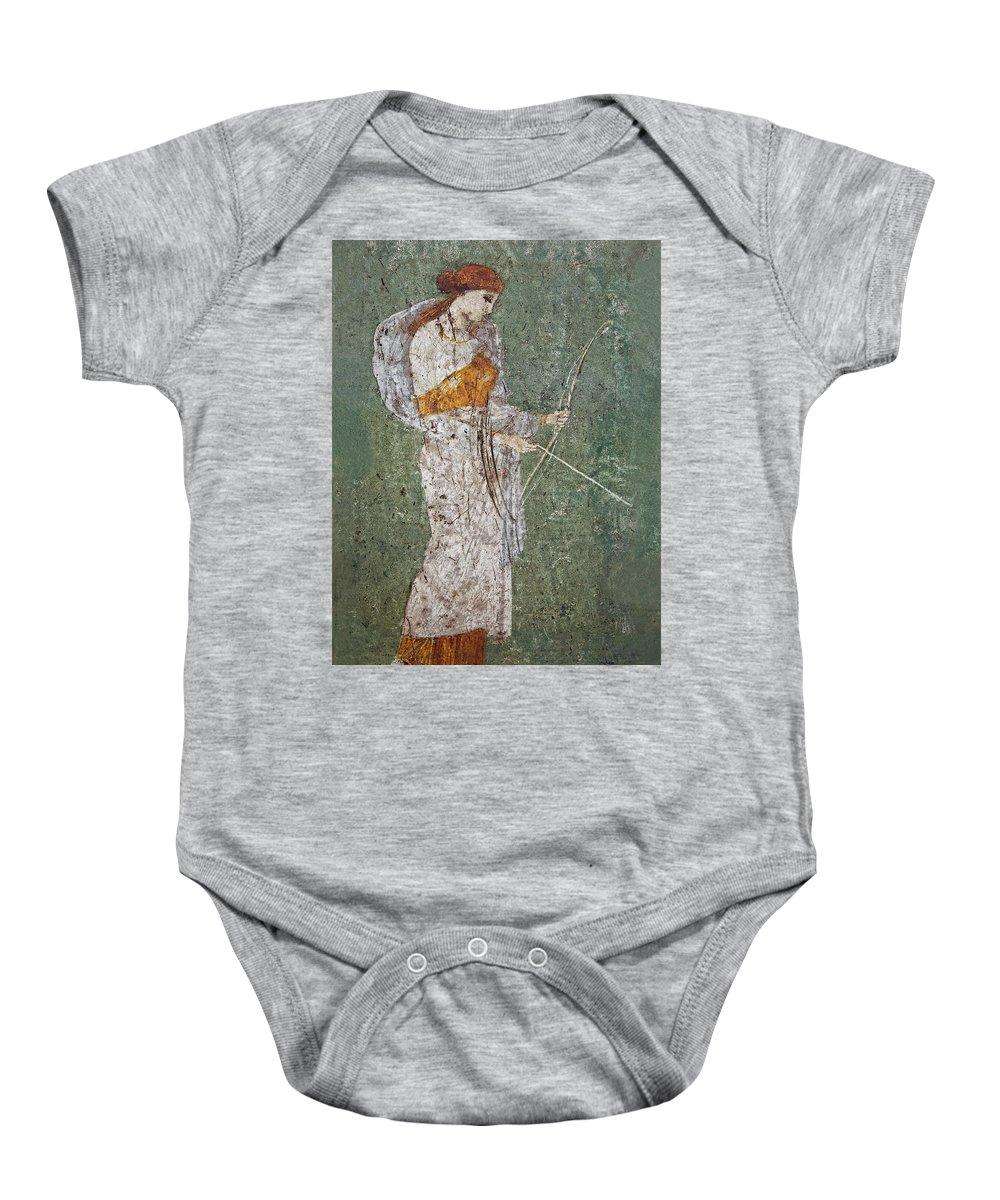 Fresco Baby Onesie featuring the photograph Diana by Joachim G Pinkawa