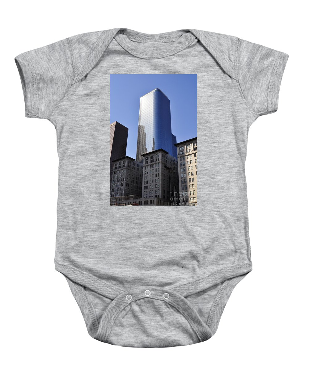 Clay Baby Onesie featuring the photograph Dichotomy by Clayton Bruster