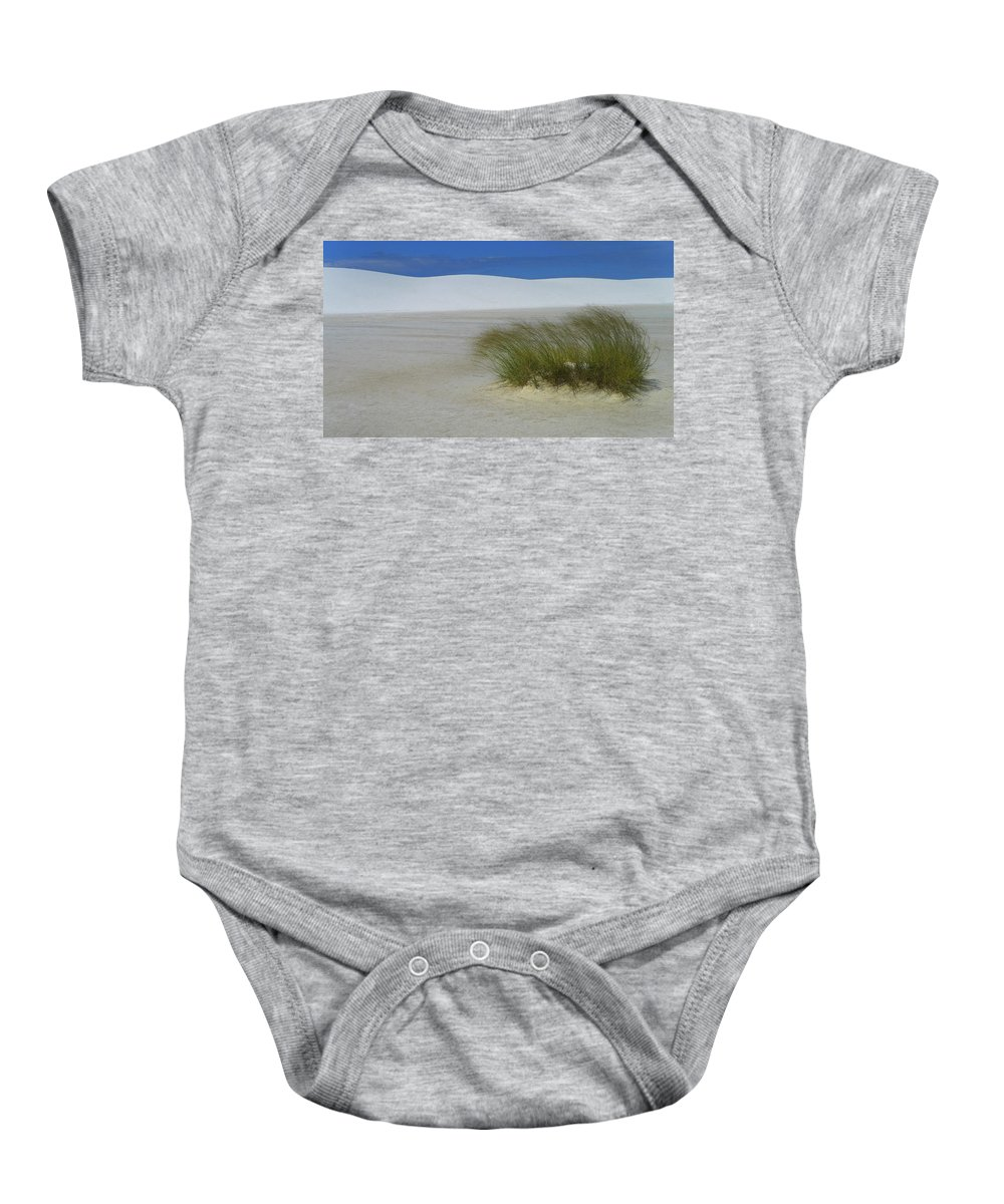 Dither Baby Onesie featuring the photograph Dither by Skip Hunt