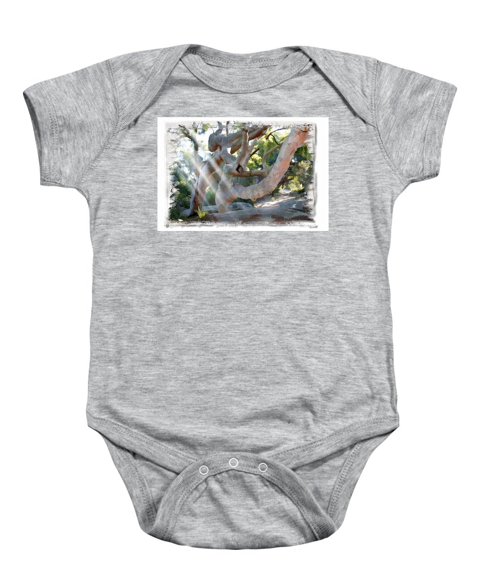 Trees Baby Onesie featuring the photograph Do-00044 Mount Ettalong by Digital Oil