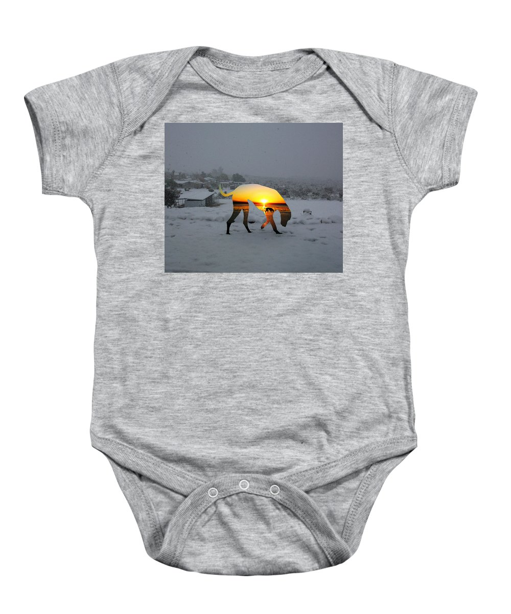 Landscape Baby Onesie featuring the photograph Dog Day Afternoon by Snake Jagger