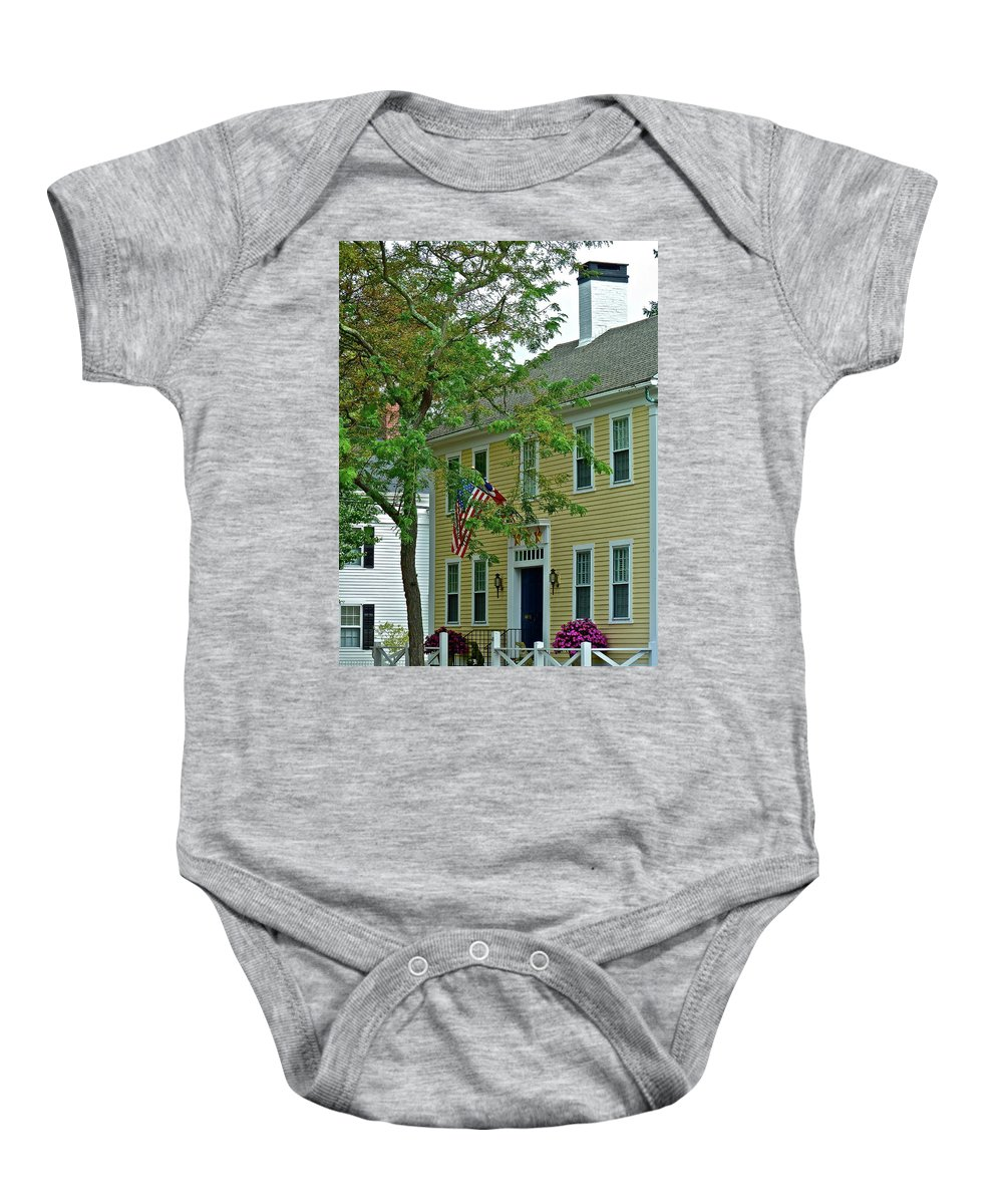 House Baby Onesie featuring the photograph Doll House by Diana Hatcher