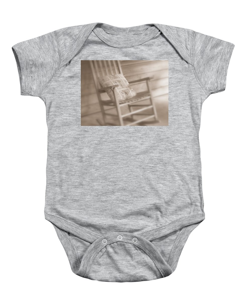 Chair Baby Onesie featuring the photograph Dream Time by Susanne Van Hulst