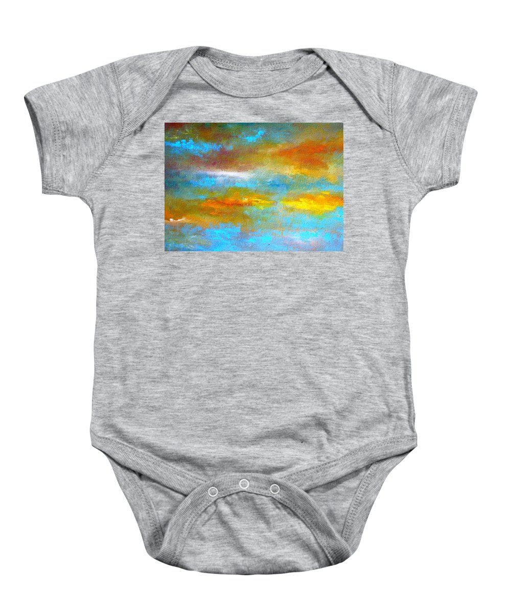 Truck Baby Onesie featuring the painting Dreaming by Lord Frederick Lyle Morris - Disabled Veteran