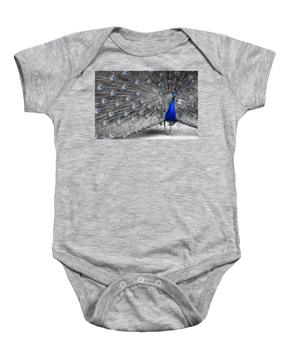 Nature Baby Onesie featuring the photograph Dutchess by Inali Featherheart