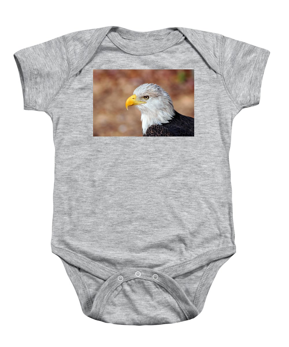 Eagle Baby Onesie featuring the photograph Eagle 10 by Marty Koch