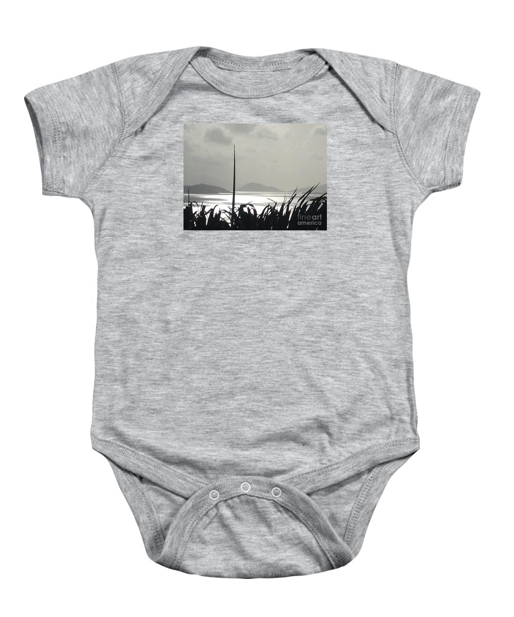Sunrise Baby Onesie featuring the photograph Early Morning Over Sugar Beach by Gina Sullivan