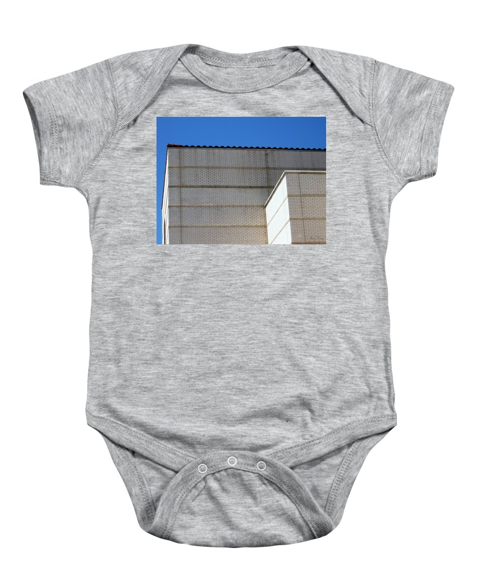 Building Baby Onesie featuring the photograph Edges by Amy Hosp