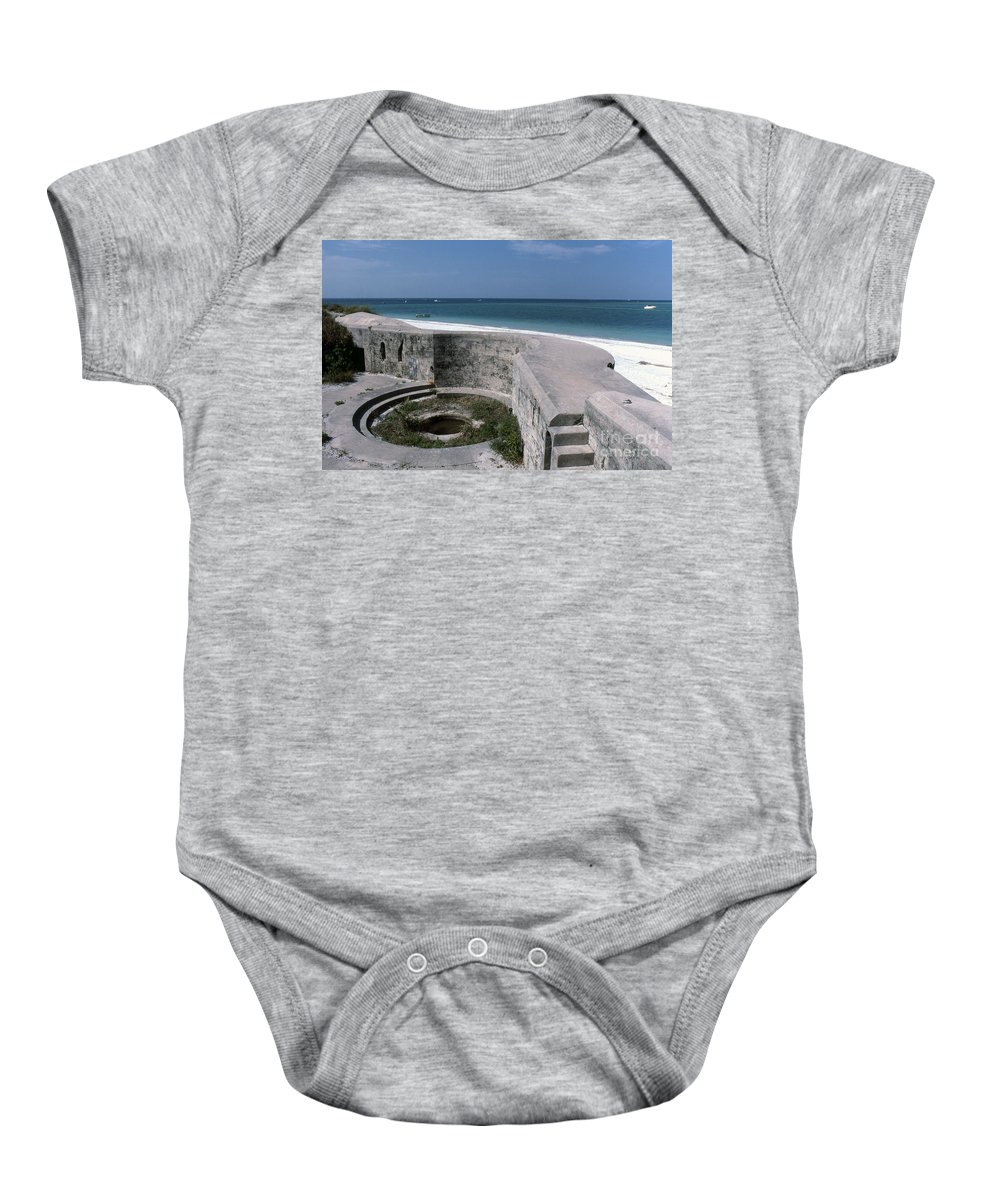 Beaches Baby Onesie featuring the photograph Egmont Key by Richard Rizzo