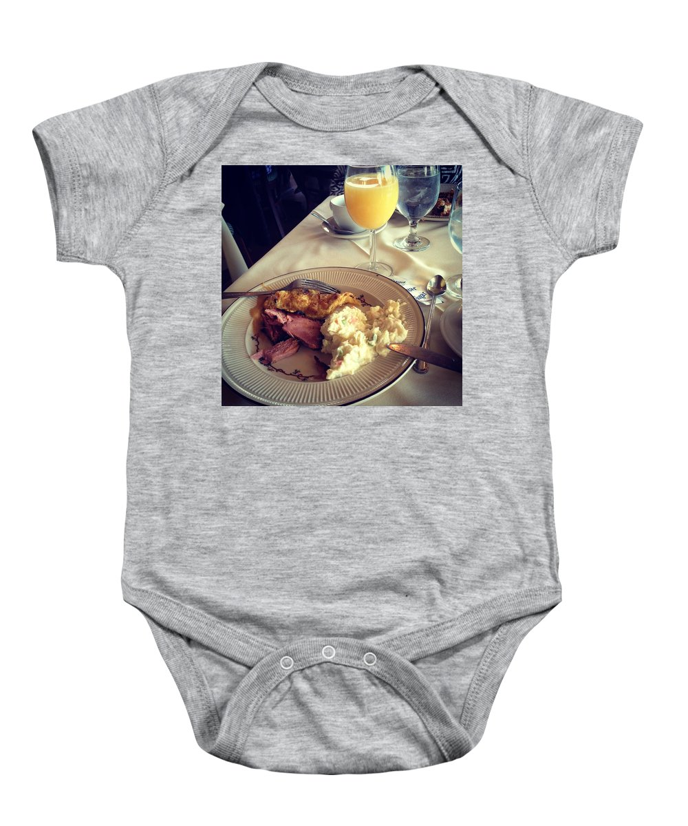 Food Baby Onesie featuring the photograph Elegant Easter by RC DeWinter