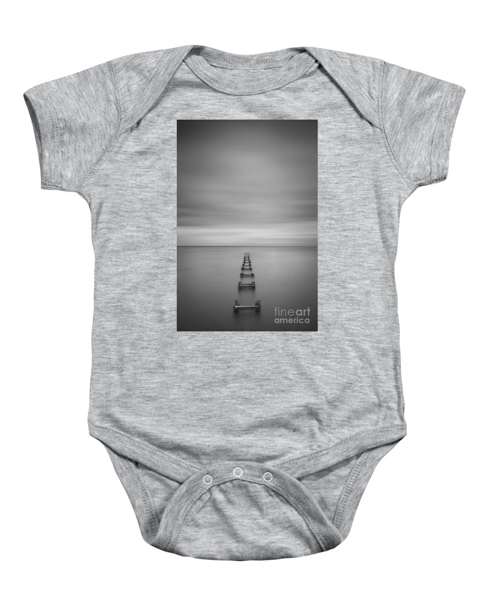 Enjoy The Silence Baby Onesie featuring the photograph Enjoy The Silence Vertical by Michael Ver Sprill
