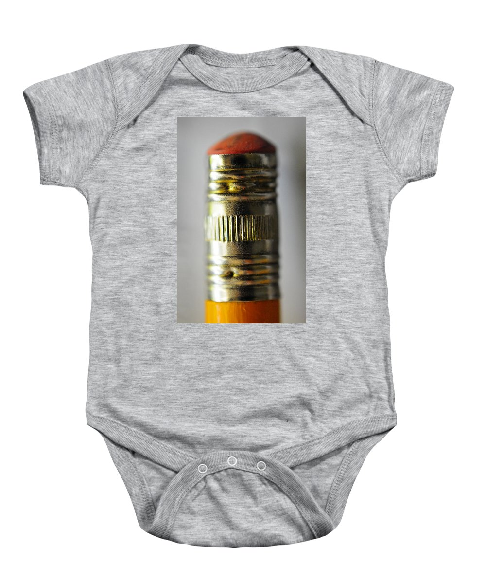 Skip Hunt Baby Onesie featuring the photograph Eraserhead by Skip Hunt