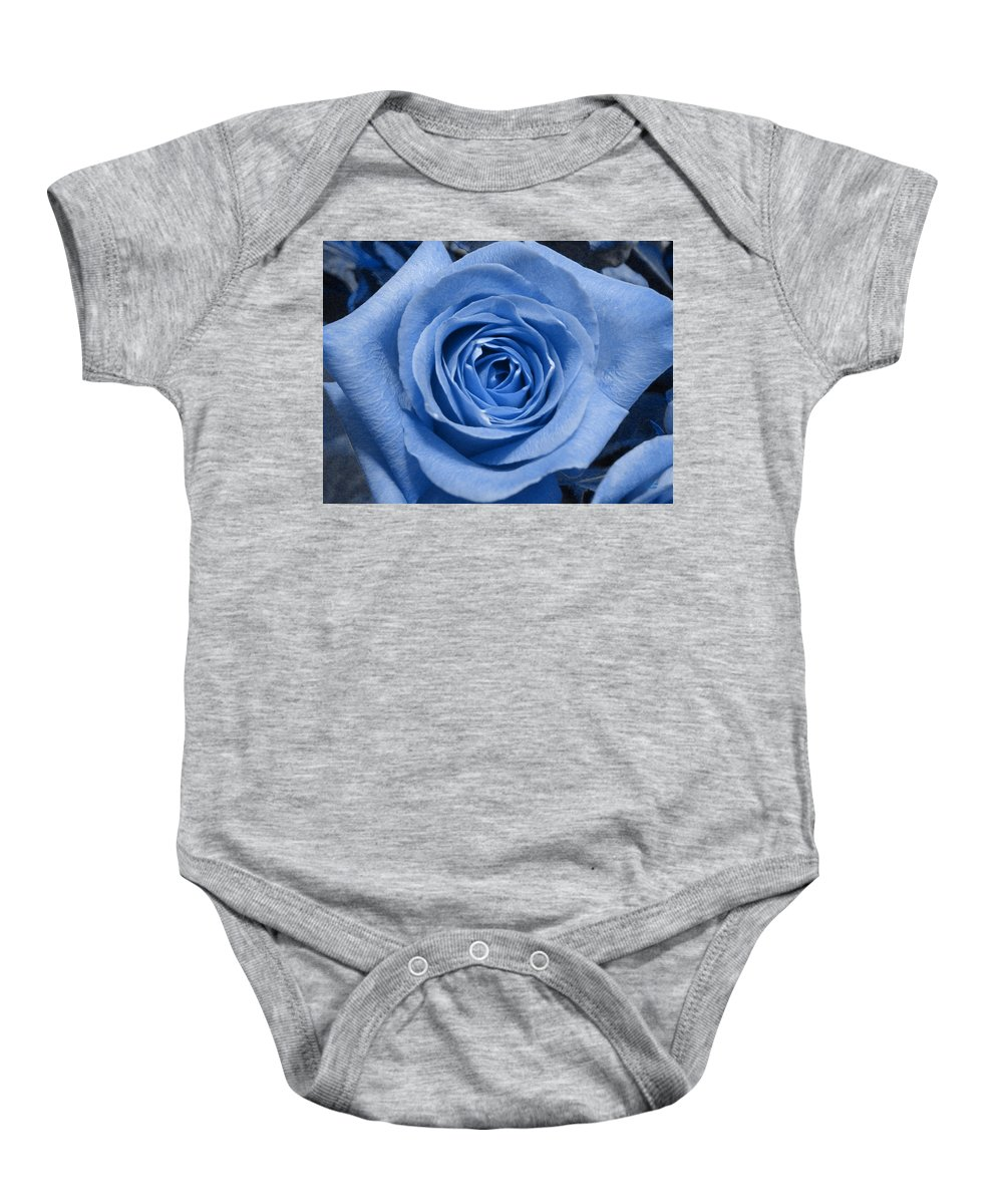 Rose Baby Onesie featuring the photograph Eye Wide Open by Shelley Jones