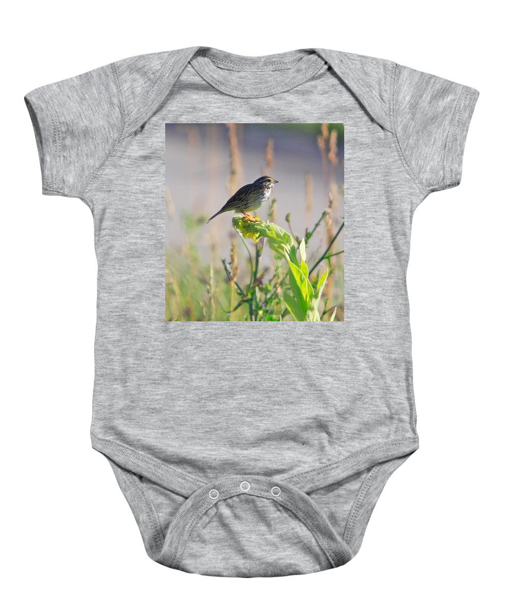 Related Tags: Baby Onesie featuring the photograph Facing the sun by Robert Pearson