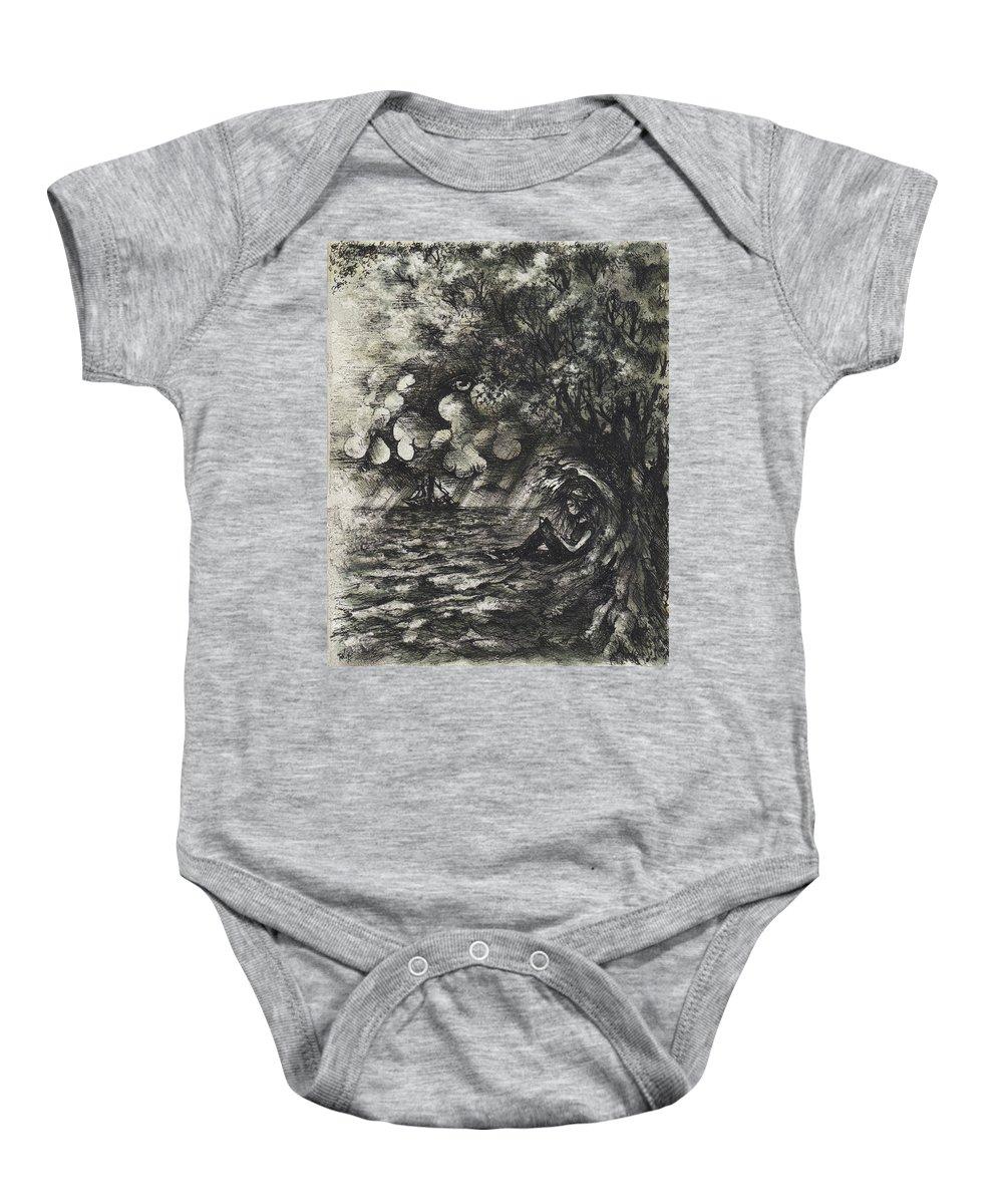 Sea Grass Baby Onesies