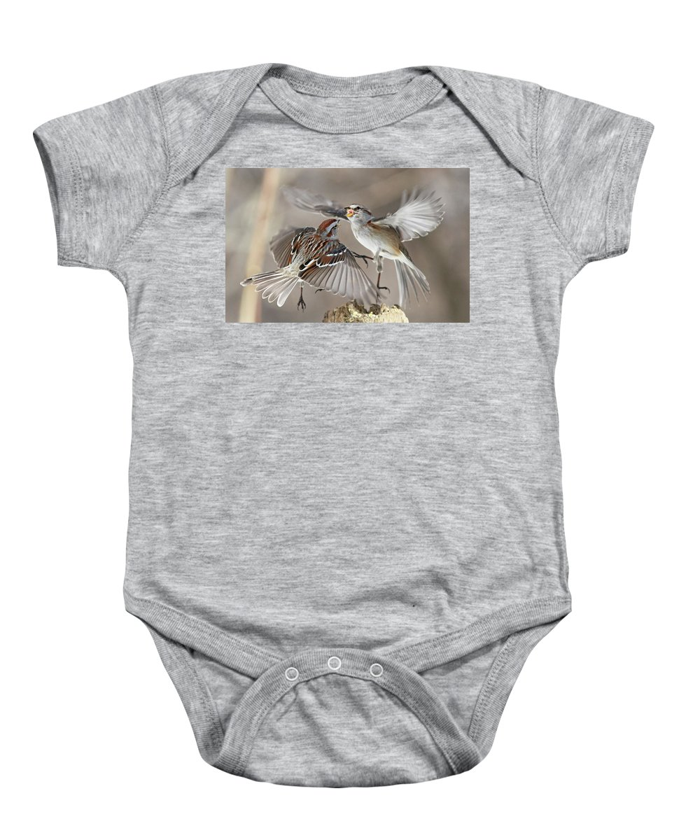 Fight Club Baby Onesie featuring the photograph Fight Club by Mircea Costina Photography